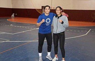 Tuğçenaz Sürmeneli'nin hayali ikizi Busenaz ile olimpiyat madalyası