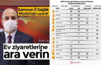 Samsun İl Sağlık Müdürlüğü uyardı!