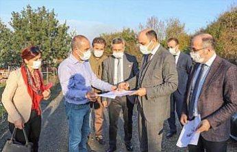 Samsun'da 900 yataklı şehir hastanesinin yer teslimi yapıldı