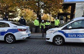 Trabzon'da polisler, AA'nın