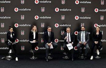 Beşiktaş Kadın Futbol Takımı'nın sponsoru Vodafone oldu