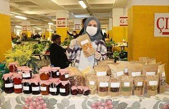 Ordu'da tarıma yönelen genç kadın girişimcinin ürettiği doğal ürünler ilgi görüyor