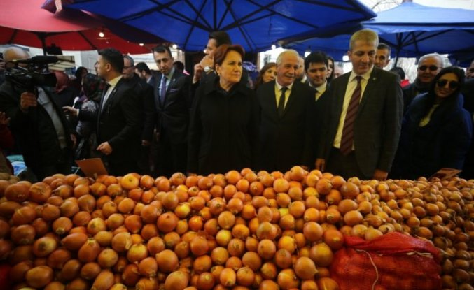 İYİ Parti Genel Başkanı Meral Akşener, Düzce'de