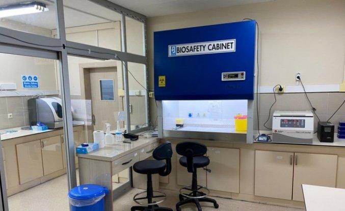 Ordu'da Kovid-19 testinin yapıldığı laboratuvarın kapasitesi artırıldı