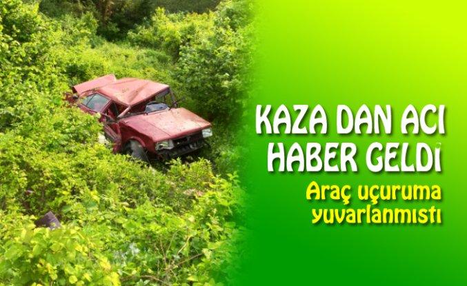 KAZA DAN ACI HABER GELDİ!