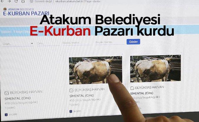 Atakum Belediyesi E-Kurban Pazarı kurdu
