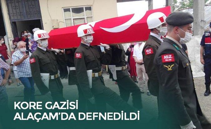 KORE GAZİSİ ALAÇAM'DA DEFNEDİLDİ