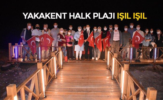 YAKAKENT HALK PLAJI IŞIL IŞIL