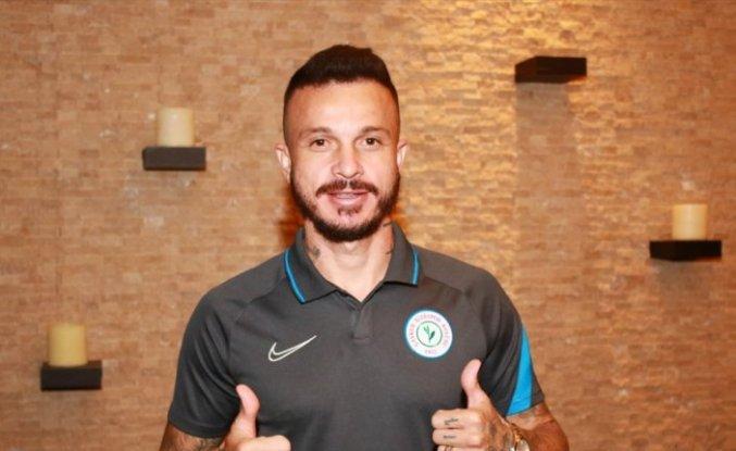 Çaykur Rizesporlu futbolcu Boldrin: