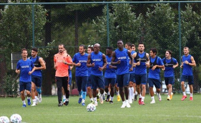 Trabzonspor'da yeni sezon hazırlıkları devam ediyor