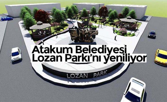 Atakum Belediyesi Lozan Parkı'nı yeniliyor