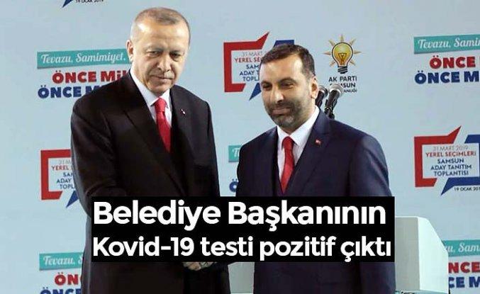 Belediye Başkanının Kovid-19 testi pozitif çıktı