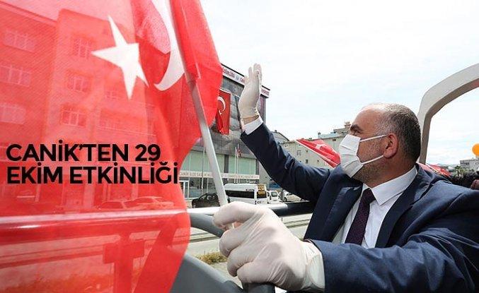 CANİK'TEN 29 EKİM ETKİNLİĞİ