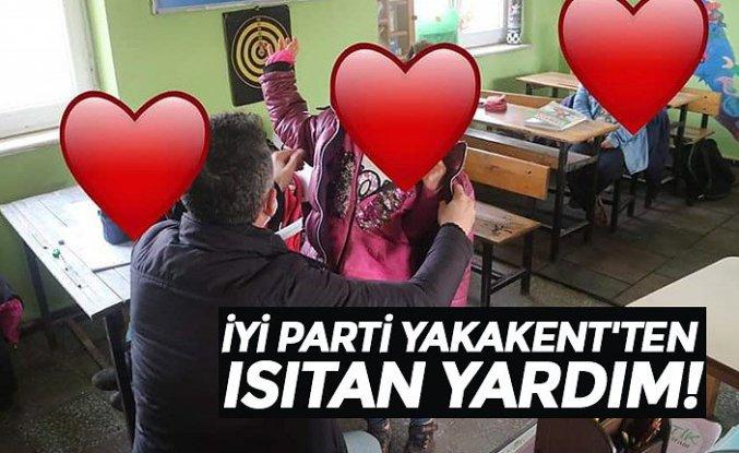 İYİ PARTİ YAKAKENT'TEN ISITAN YARDIM!