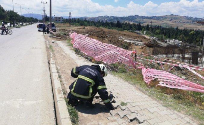 Samsun'da paniğe neden olan doğal gaz kaçağı kontrol altına alındı