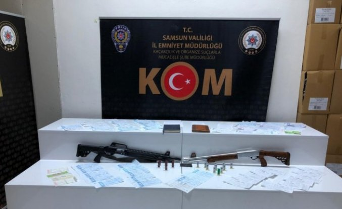 """Samsun'da """"tefecilik"""" operasyonunda 10 zanlı yakalandı"""