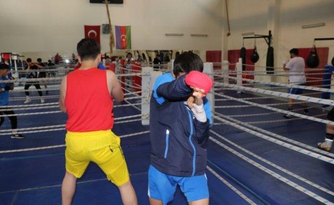 Yıldız Erkek Boks Milli Takımı'nın Kastamonu kampı devam ediyor