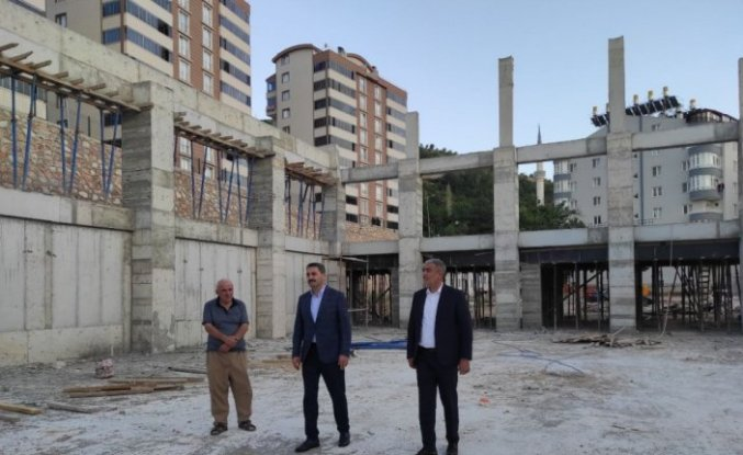 Tokat'ta spor kompleksi tamamlanıyor