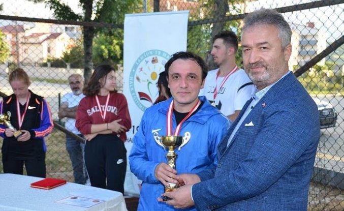 19 Mayıs İlçesinde Tenis Turnuvası Düzenlendi