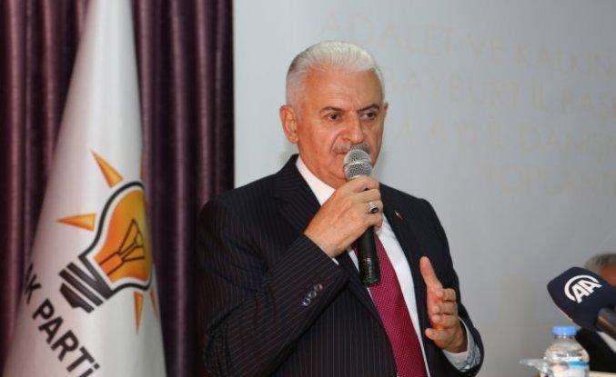 AK Parti Genel Başkanvekili Yıldırım, Bayburt'ta partililere hitap etti:
