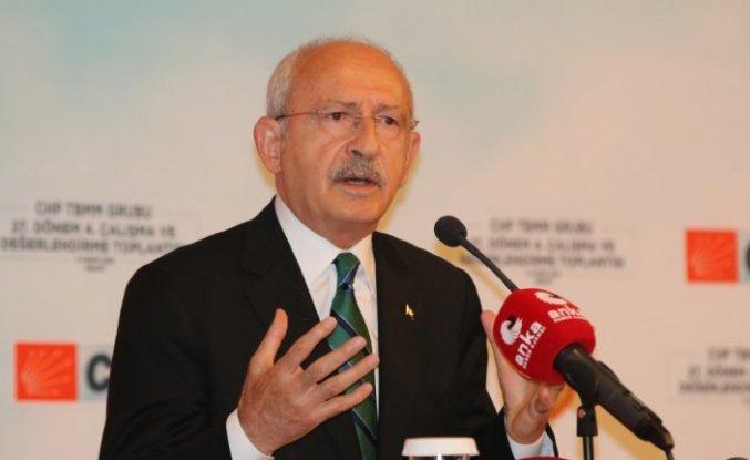 CHP Genel Başkanı Kılıçdaroğlu, partisinin Abant Kampı'nda konuştu: (1)