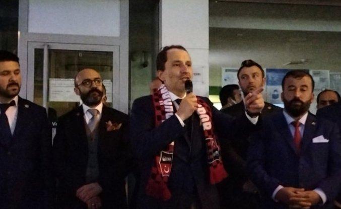 Yeniden Refah Partisi Genel Başkanı Erbakan, Samsun'da ziyaretlerde bulundu:
