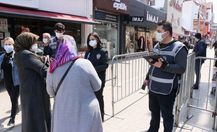 """""""Çok yüksek riskli"""" Samsun'da Kovid-19 denetimleri sürüyor"""