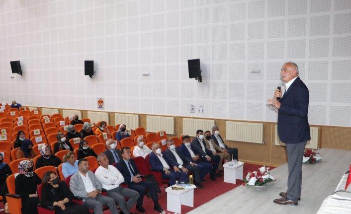 AK Parti Samsun Milletvekili Yılmaz, Havza İlçe Danışma Meclisi Toplantısı'nda konuştu