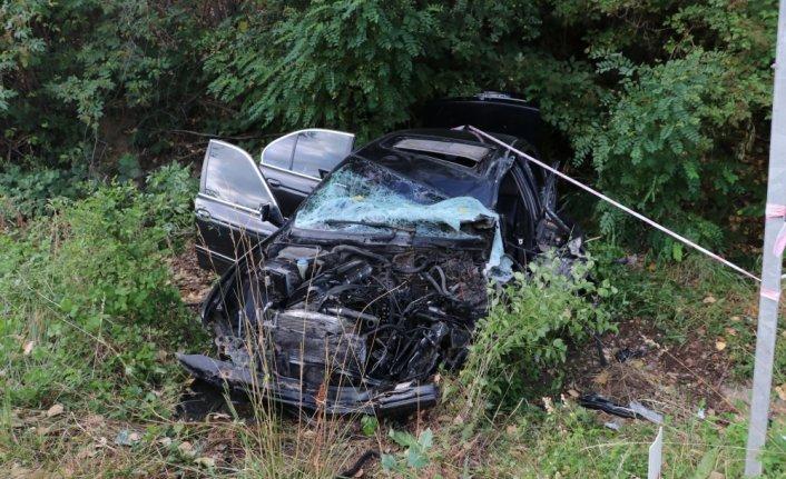 Kastamonu'da memurları taşıyan otobüs ile otomobil çarpıştı: 18 yaralı