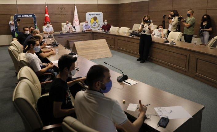 """Samsun'da Kovid-19 ile mücadele kapsamında """"Hedef 1 Günde 55 bin 555 Aşı"""" kampanyası başlatılacak"""