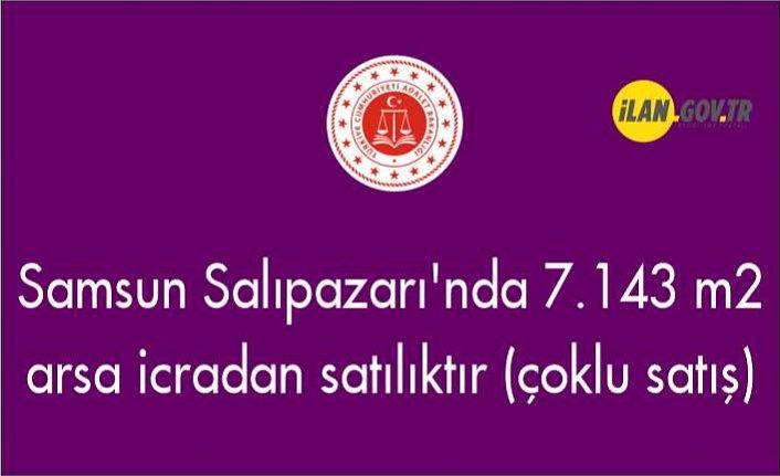 Samsun Salıpazarı'nda 7.143 m² arsa icradan satılıktır (çoklu satış)