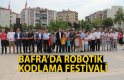 Bafra`da Robotik Kodlama Festivali
