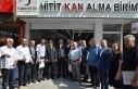 Türk Kızılayının gönüllü bağışçıları...