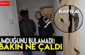 Bafra`da hırsızlık!