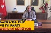 Bafra`da CHP ve İYİ Parti gerilimi sürüyor
