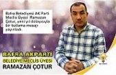Bafra Belediyesi AK Parti Meclis Üyesi Ramazan Çotur