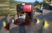 Sinop'ta otomobil devrildi: 1 ölü, 5 yaralı
