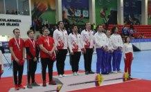 Avrupa Salon Okçuluk Şampiyonası'nda ikinci altın madalya