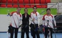 Avrupa Salon Okçuluk Şampiyonası'nda ilk altın madalya