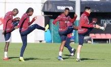 Trabzonspor, Akhisarspor maçı hazırlıklarını tamamladı