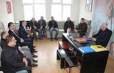 AK Parti Havza Belediye Başkan Adayı Özdemir'den ziyaret