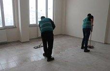 Bolu'da okulların bakımı hükümlülerden