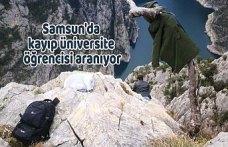 Samsun'da kayıp üniversite öğrencisi aranıyor