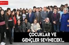 ÇOCUKLAR VE GENÇLER SEVİNECEK!..
