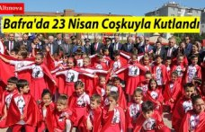 Bafra'da 23 Nisan Coşkuyla Kutlandı
