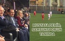 Demir, Samsunspor'un yanında
