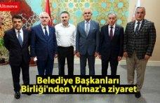 Belediye Başkanları Birliği'nden Yılmaz'a ziyaret