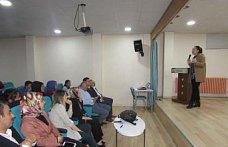 Kavak'ta öğrencilere sağlık eğitimi verildi
