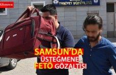 Samsun'da bir askere FETÖ'den gözaltı