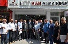 Türk Kızılayının gönüllü bağışçıları ödüllendirildi